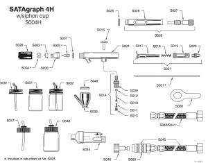 SATAgraph 4H Parts Breakdown